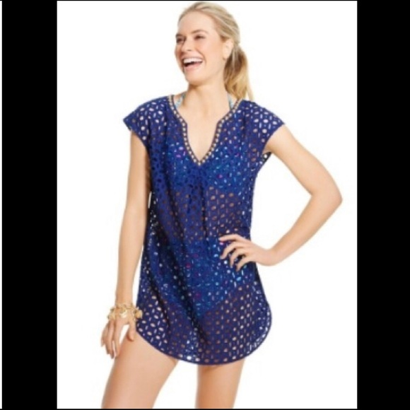 a0c6cfce6b43f Lilly Pulitzer for Target Other - Lilly Pulitzer for Target - Eyelet Tunic  Cover Up